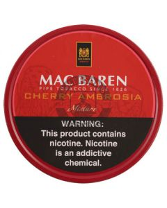 Mac Baren Cherry Ambrosia 100 Gram Tobacco Tin