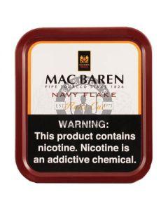 Mac Baren Navy Flake 100 Gram Tobacco Tin