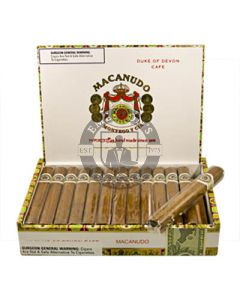 Macanudo Cafe Duke of Devon Box 25