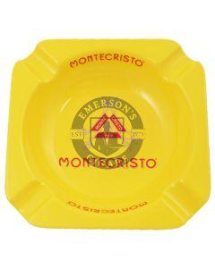 Montecristo Yellow Round Small Ashtray