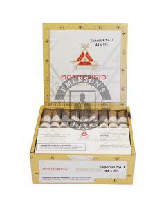 Montecristo White Especial No. 3 Box 27