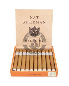 Nat Sherman Timeless Sterling Churchill Box 10