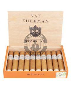 Nat Sherman Timeless Sterling Robusto Box 10