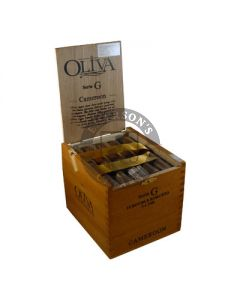 Oliva Series G Cameroon Double Robusto Box 25
