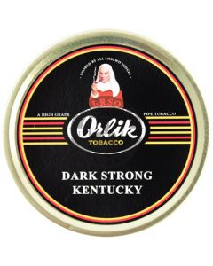 Orlik Dark Strong Kentucky Pipe Tobacco 50g Tin