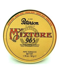 Peterson Pipe Tobacco My Mixture 965 50 Gram Tin