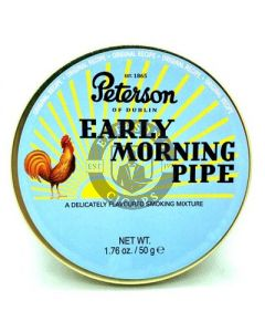 Peterson Pipe Tobacco Early Morning 50 Gram Tin