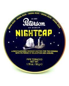 Peterson Pipe Tobacco Nightcap 50 Gram Tin