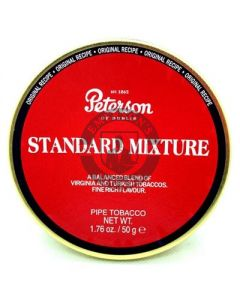 Peterson Pipe Tobacco Standard Mixture 50 Gram Tin