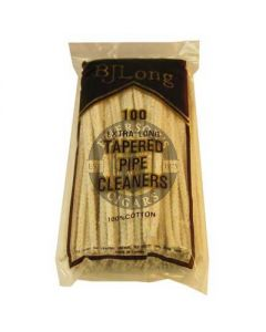 BJ Long Pipe Cleaners Tapered 100 Pack