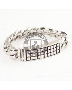 Room 101 Bracelet Raised Checker