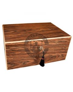Savoy Black Calabash Humidor Medium(Capacity 50 Cigars)