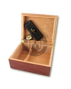 Savoy Bubinga Small Humidor (Capacity 25 Cigars)