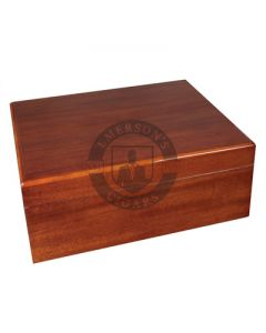 Savoy Mahogany Medium Humidor (Capacity 50 Cigars)