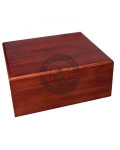 Savoy Mahogany Small Humidor (Capacity 25 Cigars)