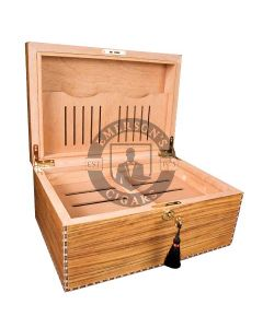 Savoy Marquis Caramel Elm Humidor Medium(Capacity 50 Cigars)