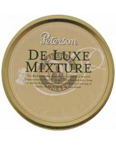Peterson Deluxe Mixture Pipe Tobacco 50g Tin