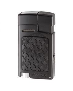 Xikar Forte Soft Flame Black Lighter