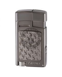 Xikar Forte Soft Flame Gunmetal Lighter