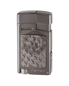 Xikar Forte Soft Flame Gunmetal Lighter