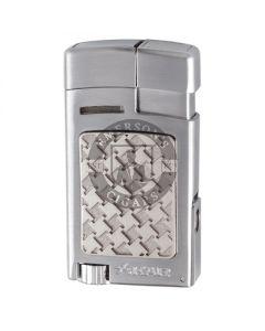 Xikar Forte Soft Flame Silver Lighter