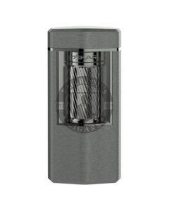 Xikar Meridian Triple Soft Flame Gunmetal Lighter