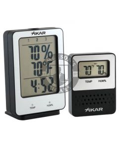 Xikar PuroTemp Wireless Hygrometer System (Base Unit with 1 Remote Sensor)