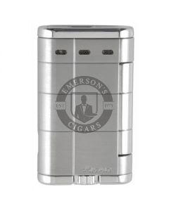 Xikar Allume Double Silver Lighter