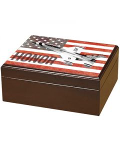 Armed Forces Honor 50 Count Humidor