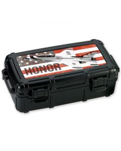 Armed Forces Honor 5 Count Travel Humidor