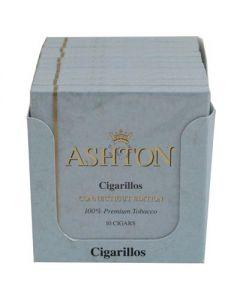 Ashton Cigarillos Connecticut Box 100 (10 Packs of 10 Cigars)