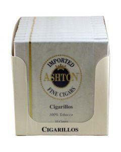 Ashton Cigarillos Box 100 (10 Packs of 10 Cigars)