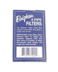 Brigham Pipe Filter 8 Pack