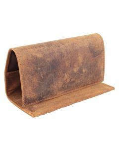 Brigham Rollup Pouch Brown