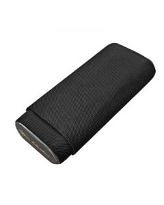 Don Salvatore Ballistic 3 Finger Cigar Case Black