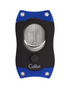 Colibri S-Cut Cigar Cutter Black/Blue