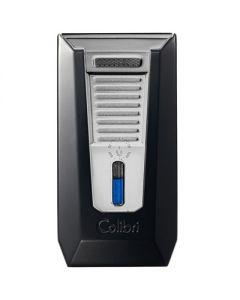 Colibri Slide Lighter Black And Chrome
