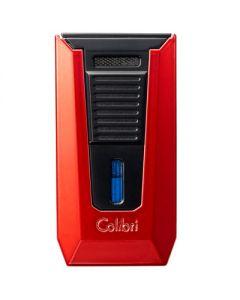 Colibri Slide Lighter Red And Black
