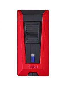 Colibri Lighter Stealth 3 Red And Black