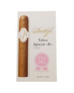 Davidoff Aniversario Special R Tubo 3 Pack - It's a Girl
