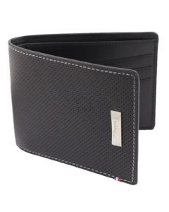 Dupont Wallet Defi Credit Card Holder Perforated Black