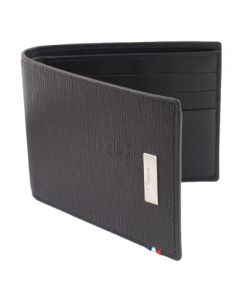 Dupont Wallet Line D Billfold 6 Credit Card Holder Contrast Black