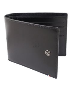 Dupont Wallet Line D Billfold 8 Credit Card and ID Holder Black