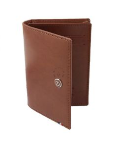 Dupont Wallet Line D Business Card Holder Brown