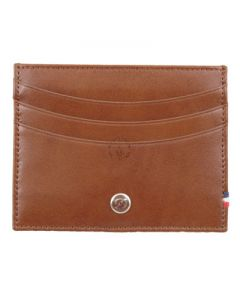 Dupont Wallet Line D Credit Card Holder Brown