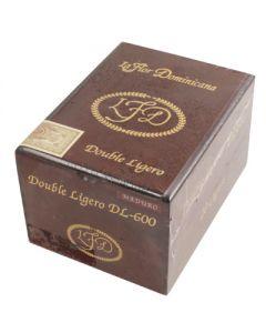La Flor Dominicana Double Ligero DL-600 (Maduro) Box 20