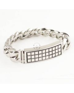 Room 101 Bracelet Raised Checker