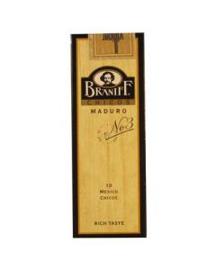 Braniff #3 Maduro 5 Packs of 10 (50 Cigars)