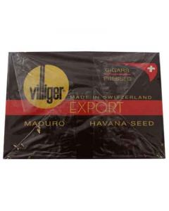 Villiger Export Maduro 10 Packs of 5 (50 Cigars)