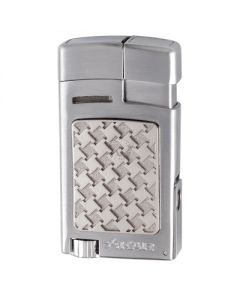 Xikar Forte Soft Flame Silver Lighter